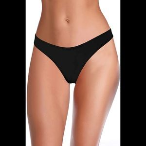 SHEKINI Women's Cheeky Brazilian Swim Bottom